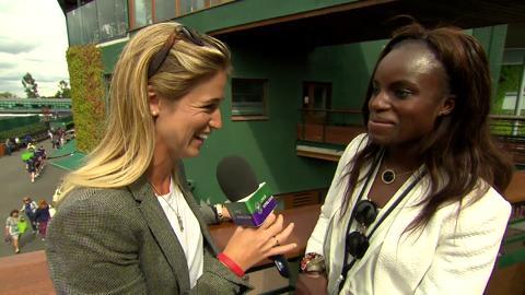 Eniola Aluko Live @ Wimbledon interview