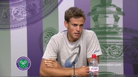 Vasek Pospisil Quarter-Final Press Conference