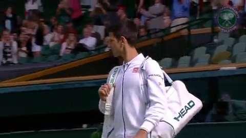 2015 Day 9 Highlights, Novak Djokovic vs Marin Cilic, Quarter-Final