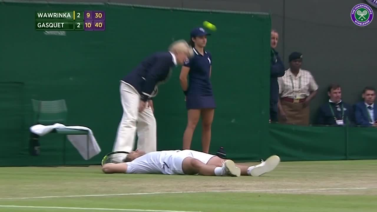 Gasquet floored by his heroics