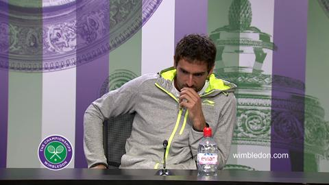 Marin Cilic Quarter-Final Press Conference
