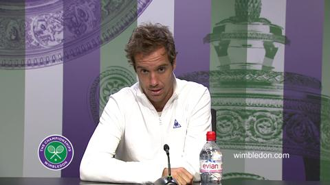 Richard Gasquet Quarter-Final Press Conference