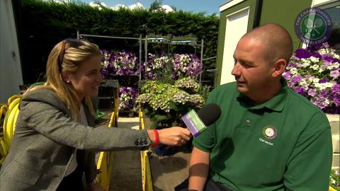 Martyn Falconer Live @ Wimbledon inteview