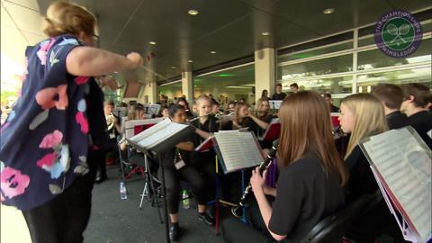 Live @ Wimbledon's Rachel Stringer meets the Merton Music Foundation