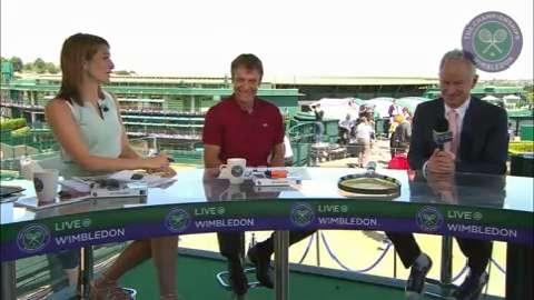John McEnroe on his Wimbledon title wins