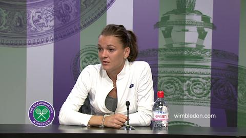 Agnieszka Radwanska Semi-Final Press Conference