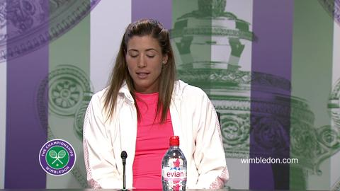 Garbine Muguruza Semi-Final Press Conference