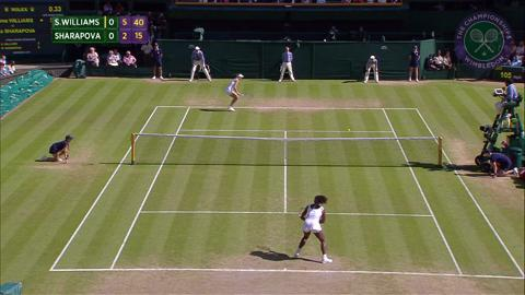 2015 Day 10 Highlights, Serena Williams vs Maria Sharapova, Semi-Final