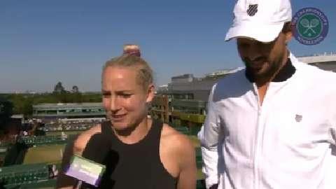 Mike Bryan and Bethanie Mattek-Sands Live @ Wimbledon interview