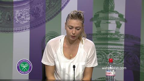 Maria Sharapova Semi-Final Press Conference