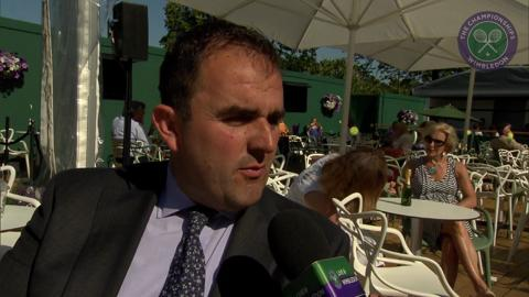 Jonathan Parker, Head of Catering, Live @ Wimbledon interview