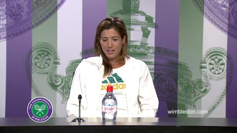 Garbine Muguruza Pre-Final Press Conference