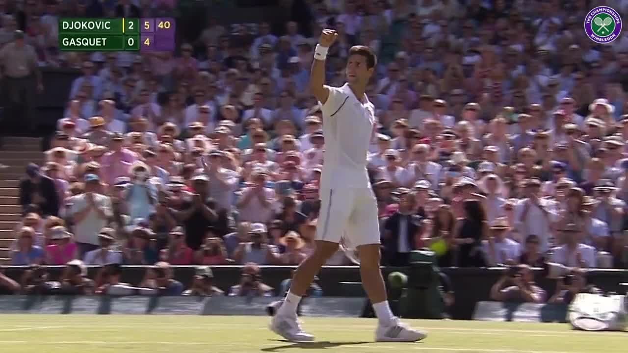 Legend Rod Laver leads applause for Djokovic