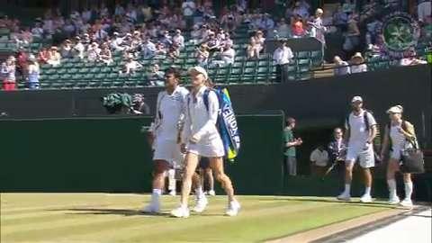 2015 Day 11 Highlights, Mike Bryan & Bethanie Mattek-Sands vs Leander Paes & Martina Hingis, Semi-Final