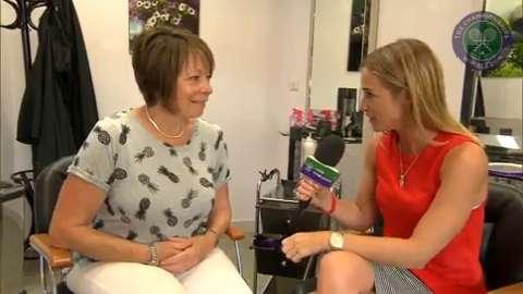 Rachel Stringer heads to the Wimbledon hair and nail bar