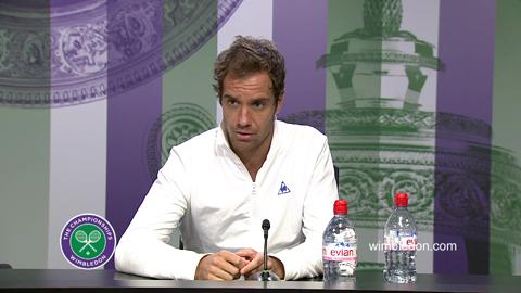 Richard Gasquet Semi-Final Press Conference