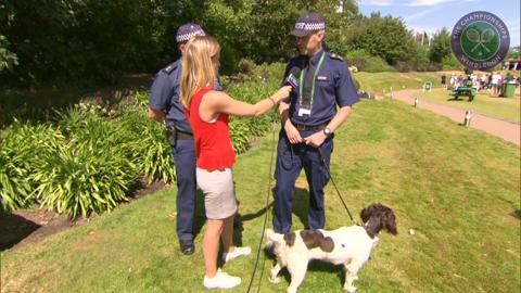 Rachel Stringer meets the police sniffer dogs