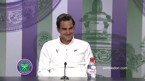 Roger Federer Semi-Final Press Conference
