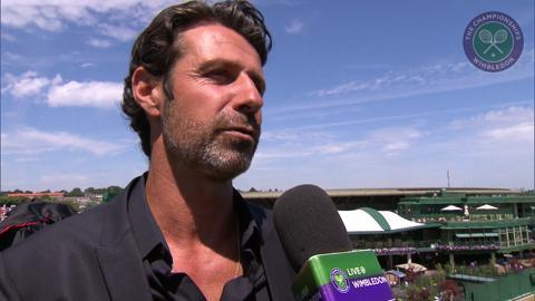Patrick Mouratoglou Live @ Wimbledon interview