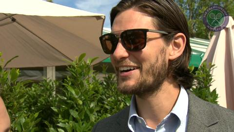 Ben Barnes Live @ Wimbledon interview