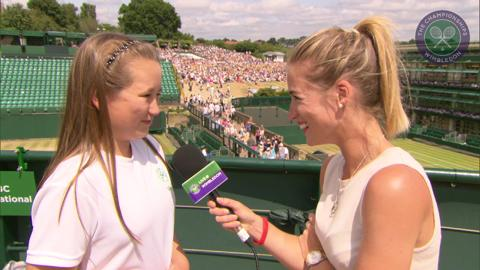 Kaci Finch Live @ Wimbledon interview