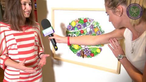 Yulia Brodskaya Live @ Wimbledon inteview