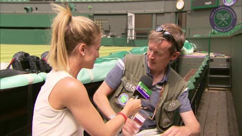 Tom Jenkins Live @ Wimbledon interview