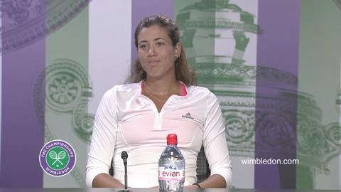 Garbine Muguruza Final Press Conference