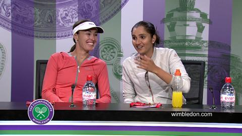 Martina Hingis & Sania Mirza Final Press Conference