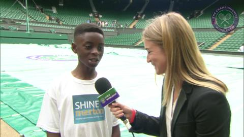 Michael Ntim Live @ Wimbledon interview