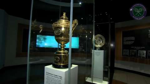 Live @ Wimbledon takes a tour of the Wimbledon museum