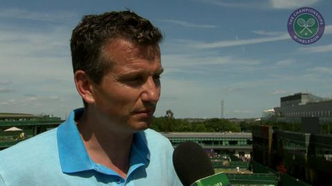 Richard Krajicek Live @ Wimbledon interview