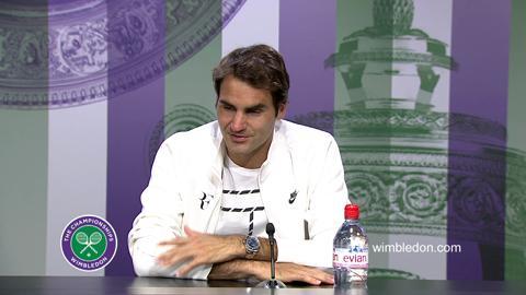 Roger Federer Final Press Conference