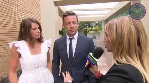 Jamie and Jools Oliver Live @ Wimbledon interview