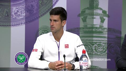 Novak Djokovic Final Press Conference