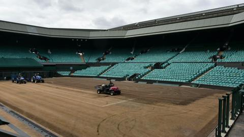 Renovating Centre Court