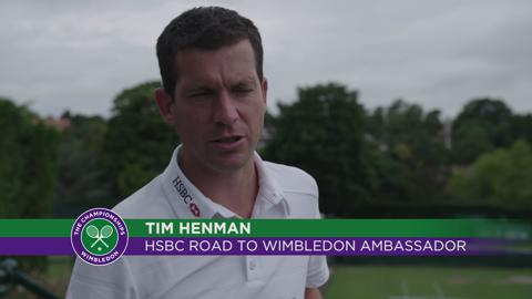 The dream begins - HSBC Road to Wimbledon 2015