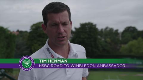 The dream begins - HSBC Road to Wimbledon 2015