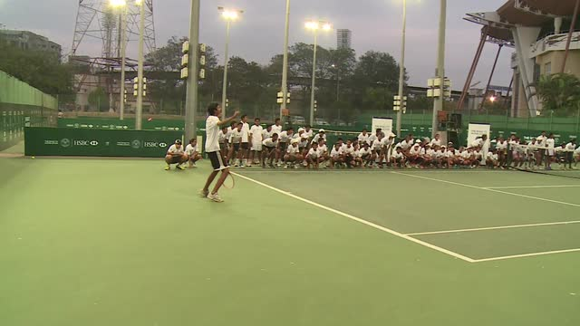Famous celebrations by Road to Wimbledon