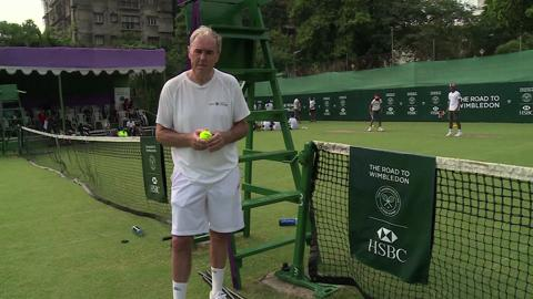 Road to Wimbledon - Introducing the Calcutta South Club Masters