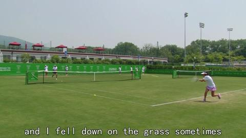 Road to Wimbledon China puts the players through their paces
