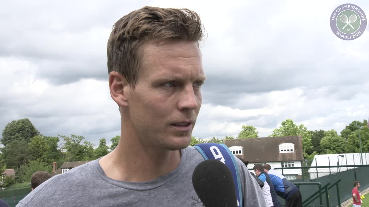 Berdych buzzing ahead of favourite time of season