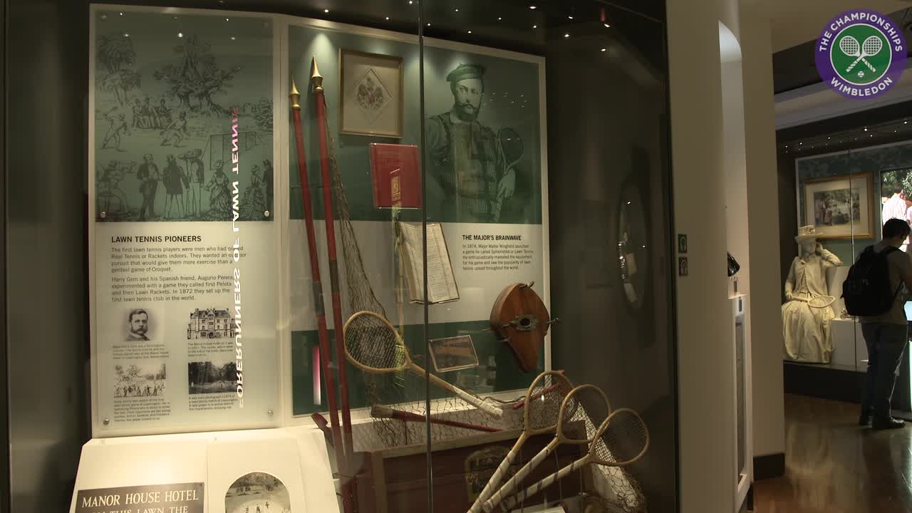 Delve into tennis history at the Wimbledon Museum