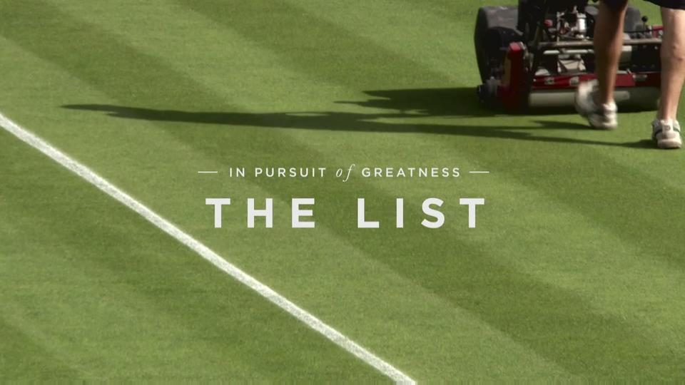In Pursuit of Greatness - The List