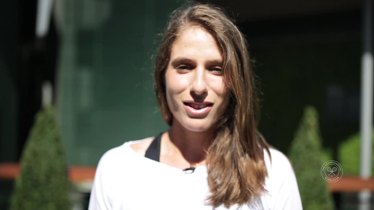 British number one Johanna Konta discusses memories of Wimbledon