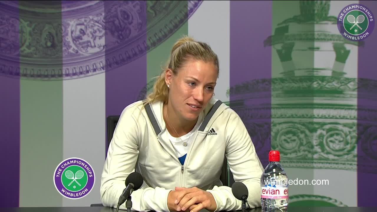 Angelique Kerber pre-Championships press conference
