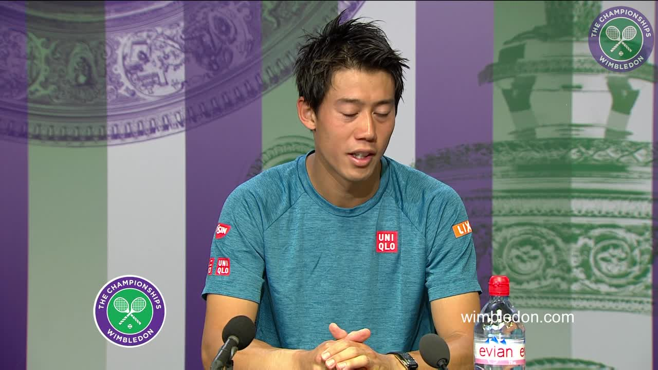 Kei Nishikori pre-Championships press conference