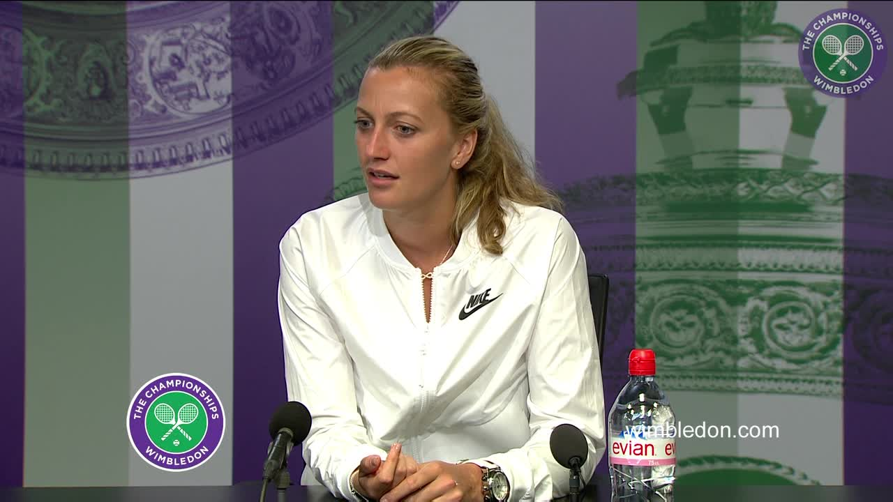 Petra Kvitova pre-Championships press conference