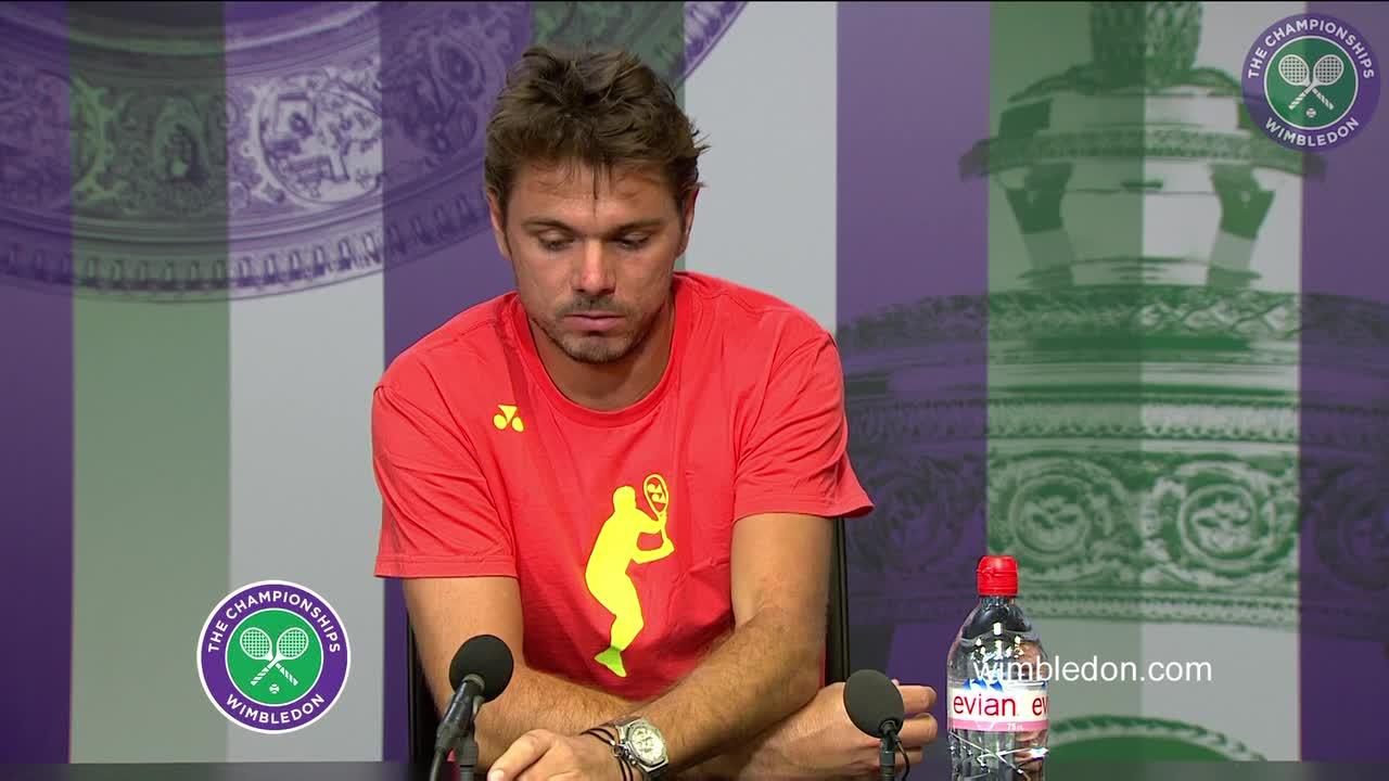 Stan Wawrinka pre-Championships press conference