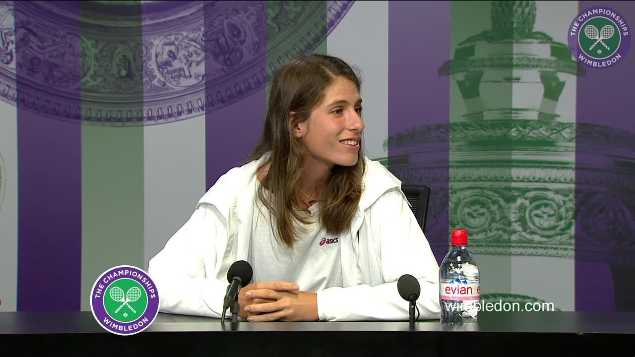 Johanna Konta pre-Championships press conference